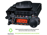 Yaesu FT-857D Transceiver -- Read the ad description before replying!!