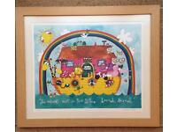 Rachel Ellen signed children's print