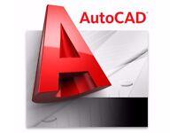 AutoCAD Private lessons, Teacher, Tutor 15£/hour