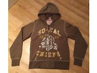 Brand new authentic men's medium True Religion hoodie. Mint condition. Vintage design from 2011.