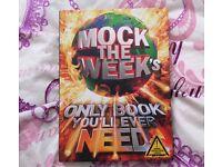 Mock The Week And GoggleBox HardBack Books Never Read