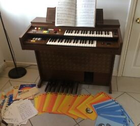 Yamaha A-55 Organ With Seat