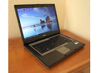 DELL D830 Laptop, Core2 Duo 2.2GHz, 3GB Memory, 160GB HDD, Windows 10 freshly installed
