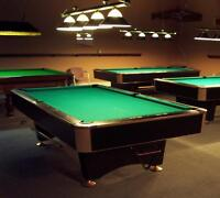 Black Crown pool table