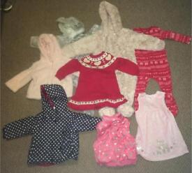 Girl's clothes bundle 9-12months