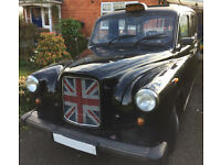 Iconic Fairway Black London Taxi 1996 Restoration Project - Possible Wedding or Commercial Use