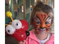 Face painting/painter and balloon modelling - Glasgow and surrounding area