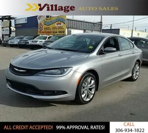 2015 Chrysler 200 S Leather Interior, Heated Seats, Bluetooth...