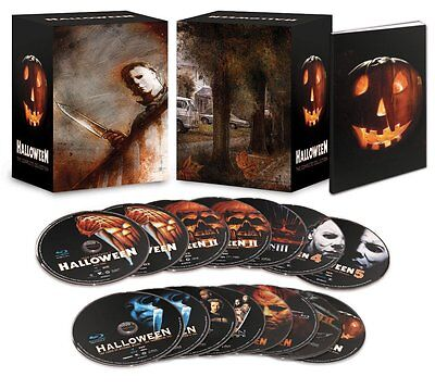 Halloween Complete Collection Deluxe (Halloween: The Complete Collection - Limited Deluxe Edition [Blu-ray Box)