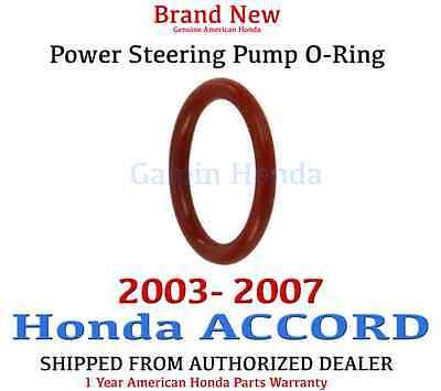 2003 2007 Honda ACCORD Genuine OEM Power Steering Pump O Ring    91345 RDA A01
