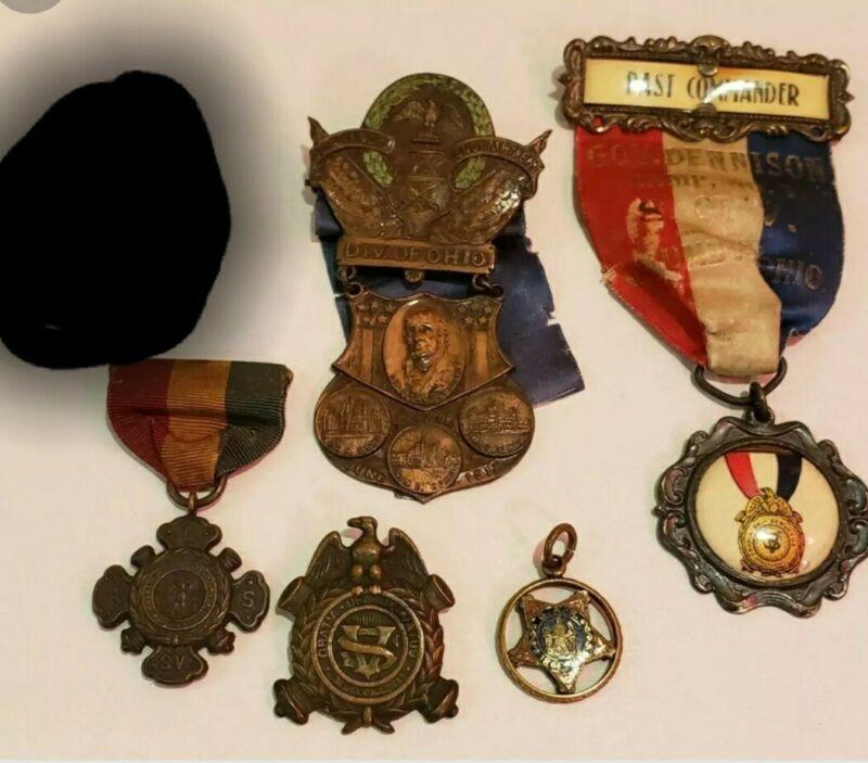 Sons of the Civil War Medals - Encampment Medal 1912 - GAR Pendant