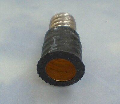 ONE Adapter to Use E12 Candelabra Light Bulbs in E10 miniature fixture base