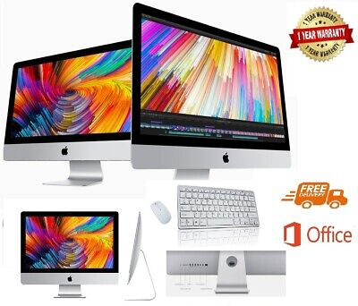 "Apple iMac 21.5"" SLIM-LINE (2013)  - 500GB HD - 4GB RAM - 12 MONTHS WARRANTY - A"