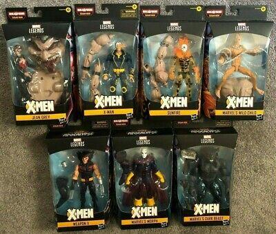 Marvel legends series BAF X-MEN APOCALYPSE SUGER MAN 7 FIGURE SET
