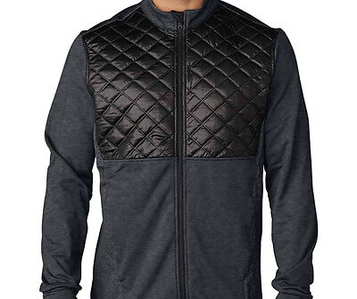 Adidas Climaheat Prime Quilted Fullzip Jacket (M) Grey AF2721