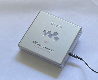 Sony MD Walkman Portable Mini Disc Player MZ- E300 Vintage Silver