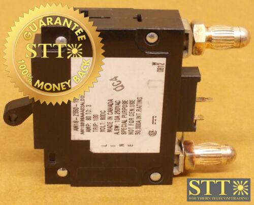 Am1s-z550-15w Heinemann 80 Amp Mid Trip Bullet Circuit Breaker 80 Vdc