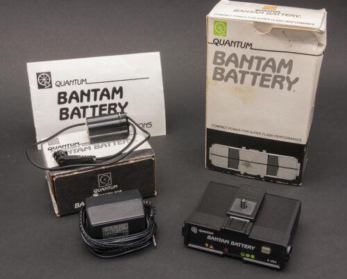 Quantum Bantam Battery with Bantam Locking Module XZ2 for Canon 420EZ