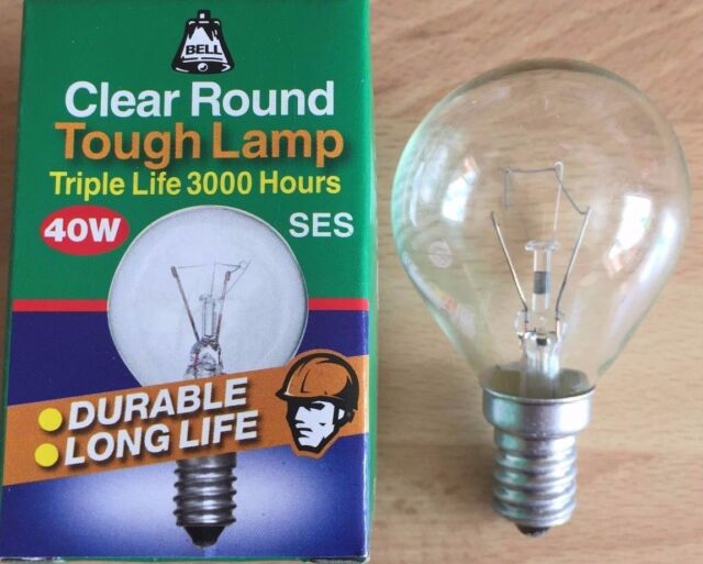 PACK OF 10x - 25W/40W/60W Plain Tough Golf Balls Opal & Clear BC/SBC/ES/SES Caps