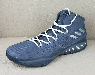 huge discount 0e8a4 007bd adidas Crazy Explosive 2017 BOOST Grey Basketball Shoes BY3767 Mens Sz 18