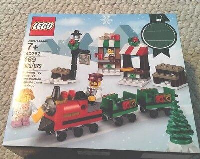 New Sealed LEGO 40262 Christmas Train Ride