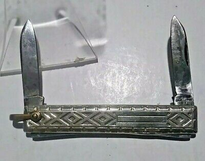 """Ladies Pocket Purse Knife Lady's Made in CHALLENGE NY Watch Fob ~2 3/8"""""""