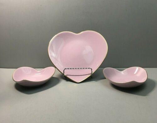 APILCO FRANCE: Heart Plates Dinnerware Valentine's Day Décor Candy Dish Bowl