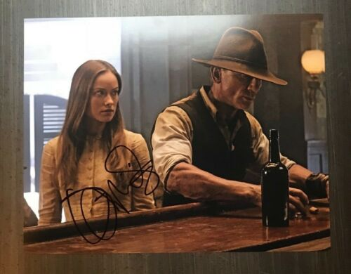 * OLIVIA WILDE * signed autographed 11x14 photo * COWBOYS AND ALIENS * 2