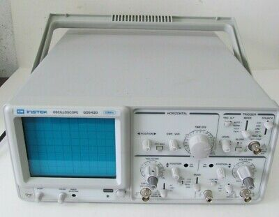 Gw Instek Gos-620 2-channel Oscilloscope 20mhz