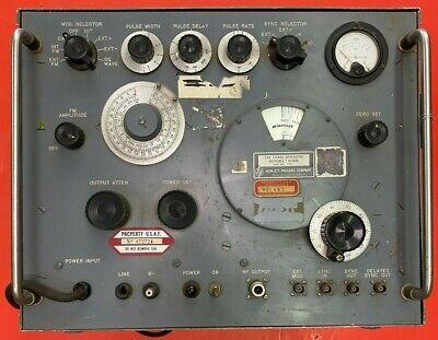 Hp 618b Hewlett Packard Shf Rf Signal Generator 3.8 To 7.8 Ghz