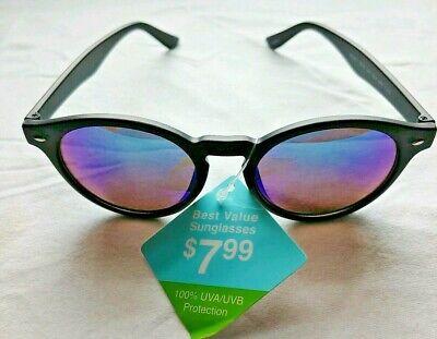 Classic Polarized Round Sunglasses Eyewear UV400 Womens Mens Driving (Best Value Polarized Sunglasses)