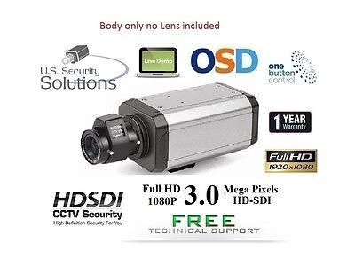 "WDR HD-SDI 1080P 1/3"" 3MP Panasonic Progressive Scan 2800TVL True Digital 1080P"