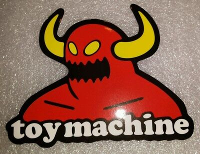 Нашивка TOY MACHINE MONSTER Sticker Skateboard