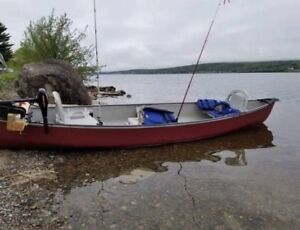 17 ft Canoe with all the goodies $1000 obo