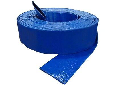 Blue Pvc Layflat Discharge Hose (2