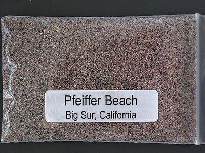 PFEIFFER BEACH, BIG SUR, CALIFORNIA ~ PURPLE/PINK BEACH SAND Sample