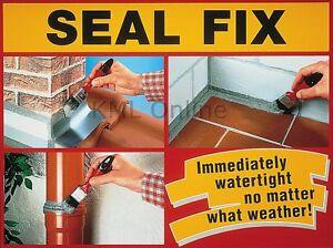 Sealfix-Seal-Fix-DICHT-FIX-Waterproof-Paste-750ml-Roof-Wall-Gutter-Sealer
