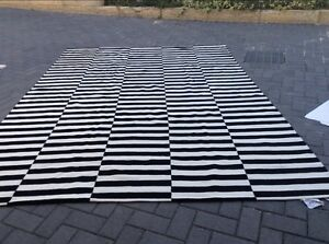 Large Ikea Stockholm flatwoven rug 2.5 x 3.5 - no offers Embleton Bayswater Area Preview