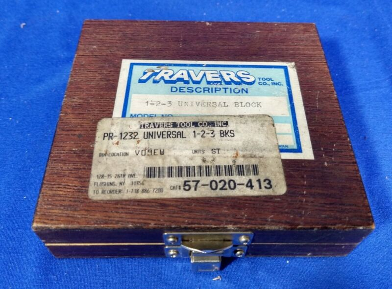 Travers Pr-1232 Universal 1-2-3 Block
