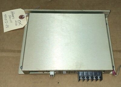 Haas 4015j-b Brushless Servo Amplifier