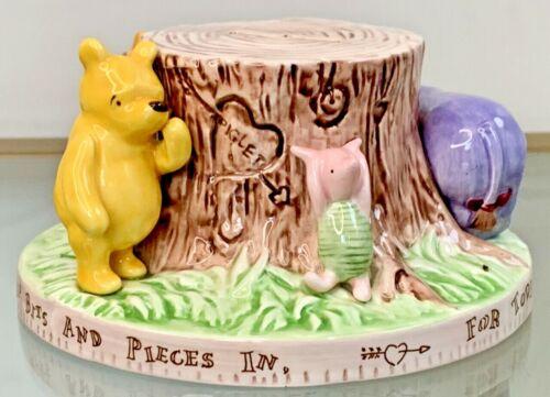 Vintage Disney Charpente Tigger Bank Ceramic Winnie Pooh Eeyore Piglet Milne