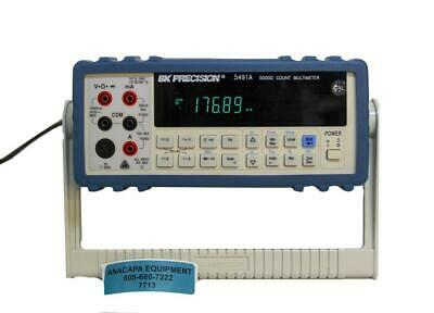 Bk Precision 5491a 50000 Count Digit Dual Display Bench Multimeter 7713 W