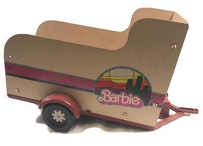 VINTAGE 1982 Barbie Horse TRAVELIN' Traveling TRAILER No 5489
