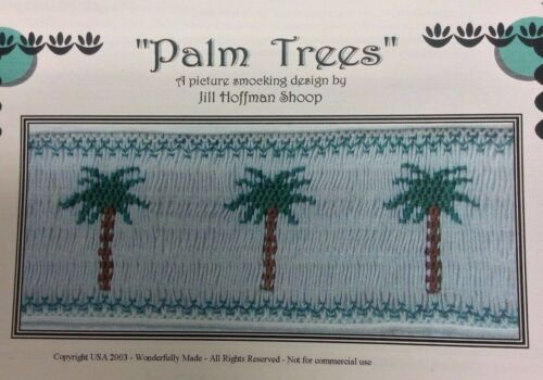 "WONDERFULLY MADE SMOCKING PLATE -""PALM TREES"""
