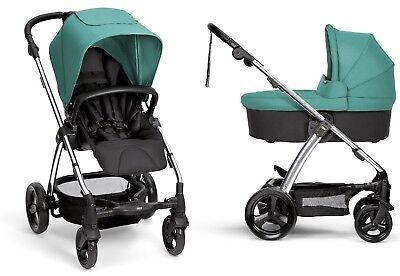 Used,  Mamas & Papas 2016 Sola 2 Stroller + Bassinet Teal Free Shipping Brand New!! for sale  Shipping to South Africa