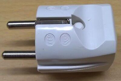 Schutzkontakt Stecker Kupplung Schukokupplung 230V Steckdose Steck-Buchse