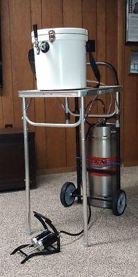 Jockey Box. Portable Tap Beer Keg Dispensing System. Beer Jockey Box. Beer Tap