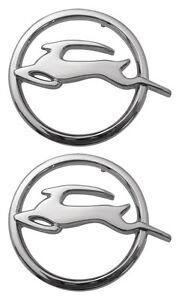 1963-63-Chevy-Impala-Quarter-Emblems-Pair