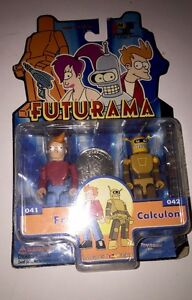 Futurama The I-Men Collection Fry & Calculon 2 figure pack by Toynami