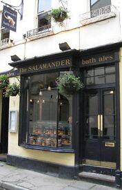 General Manager for The Salamander Bath